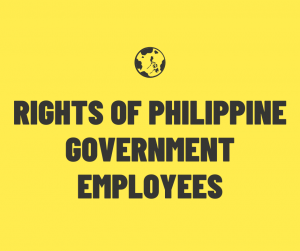 rights of philippine government employees
